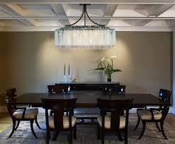 chandelier amusing rectangular dining chandelier dining room