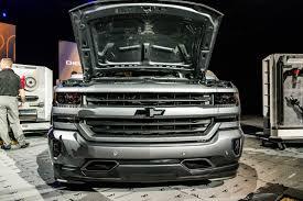 chevy concept truck diadon enterprises chevy unveils 2018 silverado high performance