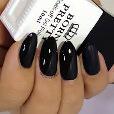 uma u0027s nail art born pretty black soak off one step gel polish