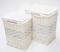 Wicker Clothes Hamper With Lid Small Laundry Basket Wondrous Small Space Laundry Basket Ideas At