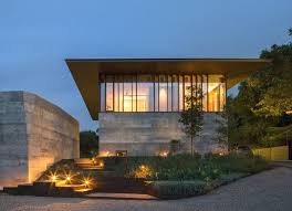 Glass Pavilion Balcones House Is Like A Glass Pavilion Rising From A Solid