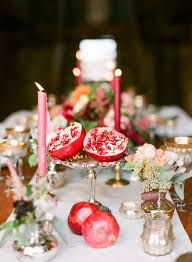 Easy Centerpieces 21 Pomegranate Fall Decorations To Infuse Your Décor With Color