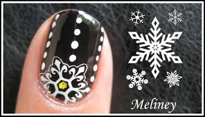 winter snowflake nails holiday stamping nail art tutorial for