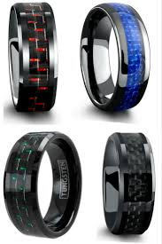 guys wedding bands jewelry rings rubber wedding rings for guys cheap black wear ring