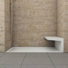 badezimmer sitzbank ebenerdige dusche in 55 attraktiven modernen badezimmern