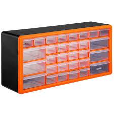 Cabinet Drawer Parts Vonhaus 30 Drawer Parts Storage Organiser Cabinet Amazon Co Uk
