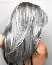 pictures of grey hair with lowlights platinum grey hair color marcomanzoni me