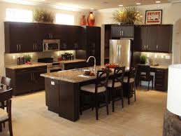 Ideas For Decorating On Top Of Kitchen Cabinets by Modern Mahogany Kitchen Cabinets More Picture Modern Mahogany