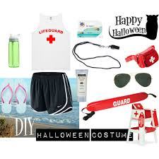 Lifeguard Halloween Costume Diy Lifeguard Costume Polyvore