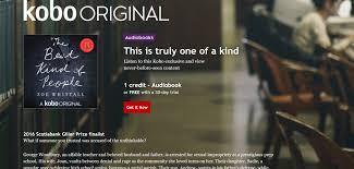 kobo releases their original audiobook