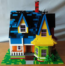 lego up house my lego rendition of carl fredricksen s hous flickr