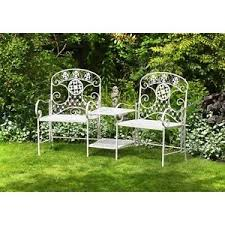 Antique Garden Furniture EBay - Outdoor iron furniture