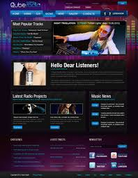 music joomla themes