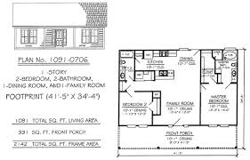 2 bedroom 2 bath house plans house plan w3448 detail from entrancing single house plans 2