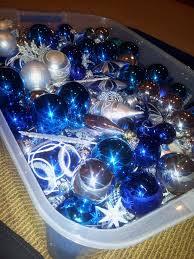 Blue And Silver Christmas Tree - christmas phenomenal blue and silver christmas tree photo ideas