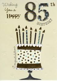 happy 85th birthday foiled greeting card cards love kates
