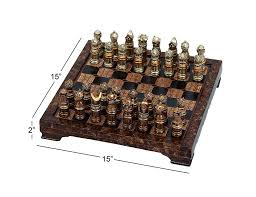 amazon com unique medieval chess set with game board home u0026 kitchen