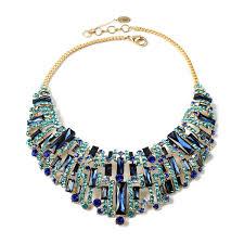 blue bib necklace images Victoria bib necklace shop amrita singh jewelry