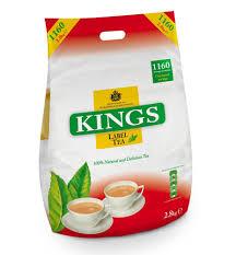 kings label tea 1160 teabags 2 8kg amazon co uk grocery