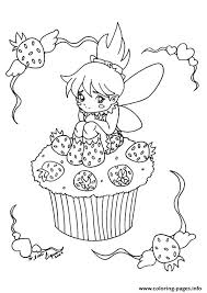 cupcake coloring pages to print the little fairy cupcake coloring pages printable