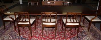 Mahogany Dining Room Tables Ebert Furniture Company Mahogany Duncan Phyfe Dining Room Table
