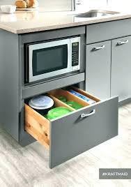 ikea cabinet microwave drawer in cabinet microwave yellow cabinets with built in oven and