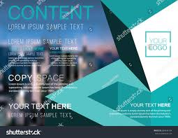 Presentation Layout Design Template Business Financial Stock