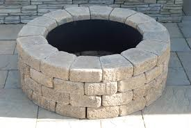 Fire Pit Kits by Exterior Enchanting Lowes Fire Pit Kit For Modern Patio Design