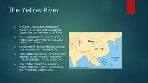 Yellow River Map Yellow River Civilization Popular River 2017