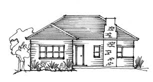 House Plans Online Simple Drawing Of A House Drawing Sketch Picture