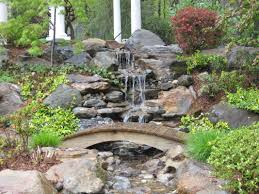 Backyard Pond Landscaping Ideas Backyard Waterfall Landscaping Waterfall Landscaping Ideas
