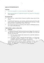 business u2013 confidentiality agreements new zealand legal