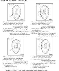 dawnsun ceiling fan parts tx007r1 fan remote controller user manual users manual dawnsun