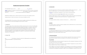 employment agreement template tips u0026 guidelines