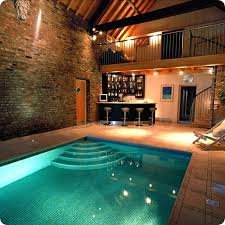 indoor swimming pool private indoor swimming pool with mini bar design and recessed