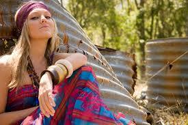 hippie style dressing in hippie style
