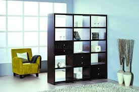 room dividers bookcase room dividers hall asian with vases as divider brown