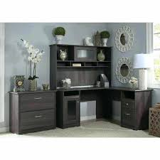 Bush Stanford Lateral File Cabinet Computer Desk With Hutch And File Cabinet Tandemdesigns Co
