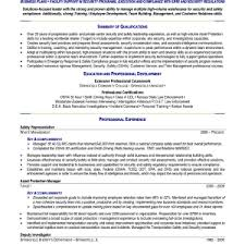 police officer resume template military chief executive officer