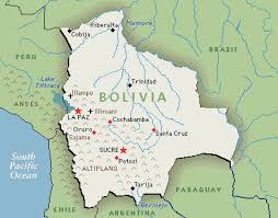 bolivia on world map bolivia map map of bolivia greenwich time