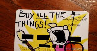 Buy All The Things Meme - the lansey brothers blog buy all the things credit card design