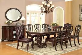 Formal Dining Room Chairs Dining Room Sets Traditional Style Large Size Traditional