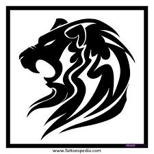 tribal lion tattoo designs for men 1 tattoo pinterest tribal