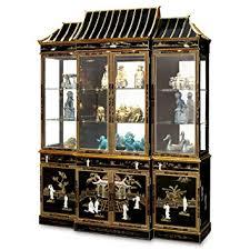 amazon com china furniture online black lacquer china cabinet