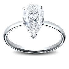 women s engagement rings 0 49 carat pear shape women s diamond engagement ring big apple