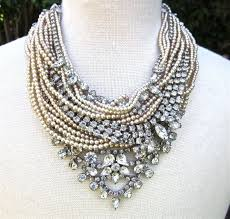 statement necklace pearl images 210 best statement necklaces images vintage costume jpg