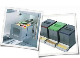 poubelle de cuisine tri s駘ectif 3 bacs poubelle encastrable de tri sélectif tri des déchets legallais