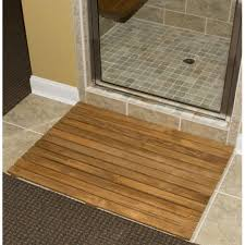 Ikea Bamboo Bath Mat 36 X 30 Teak Shower Mat Bathroom