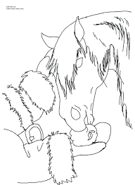 flying horse coloring pages print free printable paper