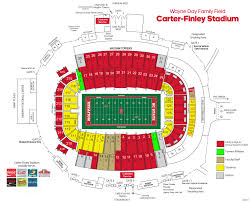 Map Of Raleigh Nc Nc State Athletics Football Ingress Egress